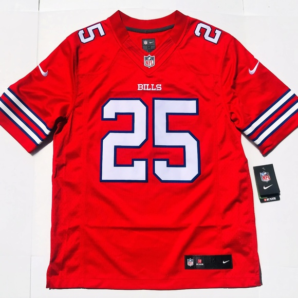the best attitude b37c7 33550 Nike Buffalo Bills LeSean McCoy Color Rush Jersey NWT